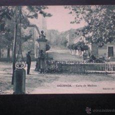 Postales: CASTILLA M SIGÜENZA GUADALAJARA CALLE DE MEDINA AÑO 1923 POSTAL ANTIGUA. Lote 45780643