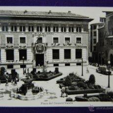 Postales: POSTAL DE TERUEL. PLAZA DEL GENERAL VARELA. EDICIONES SICILIA. AÑOS 50. Lote 45784859