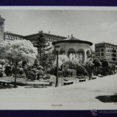 Postales: POSTAL DE TERUEL. GLORIETA. EDICIONES SICILIA. AÑOS 50. Lote 45784878