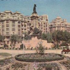 Postales: ZARAGOZA - MONUMENTO A LOS SITIOS - Nº703 - ED. G.GARRABELLA - AÑO 1960- ESCRITA . Lote 45806166