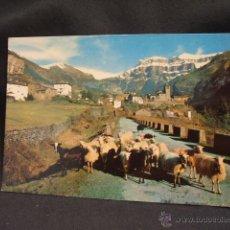 Postales: POSTAL - TORLA - VISTA GENERAL Y MONDARRUEGO AL FONDO - HUESCA - . Lote 45923507