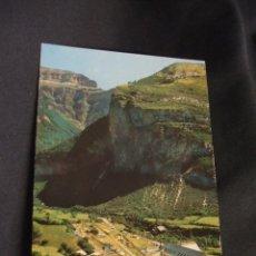 Postales: POSTAL - TORLA - VISTA GENERAL DEL CAMPING DE ORDESA - HUESCA - . Lote 45923556