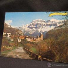 Postales: POSTAL - TORLA - ORDESA - AL FONDO MONDARRUEGO - HUESCA - . Lote 45923599
