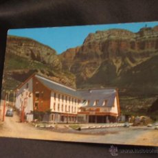 Postales: POSTAL - TORLA - HOTEL ORDESA - HUESCA - . Lote 45923623