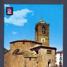 Postales: BOLTAÑA. PIRINEO ARAGONES. IGLESIA PARROQUIAL. Lote 46035422