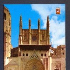 Postales: HUESCA. IGLESIA CATEDRAL ARTE GOTICO. SIGLO XIII - XVI. Lote 46036427