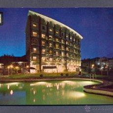 Postales: JACA. PIRINEO ARAGONES. GRAN HOTEL. VISTA NOCTURNA. Lote 46054255