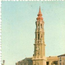 Postales: ZARAGOZA CATEDRAL DE LA SEO. Lote 46110414
