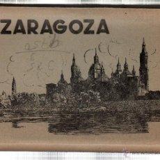 Postales: BLOC DE TARJETAS POSTALES DE ZARAGOZA. CONTIENE 10 POSTALES. Lote 46167634