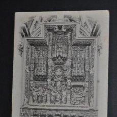 Postales: ANTIGUA POSTAL DE ZARAGOZA. ALTAR MAYOR DEL PILAR. FOTPIA. L. ESCOLÁ. SIN CIRCULAR. Lote 46246742