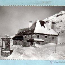 Postales: POSTAL DE CANFRANC - CANDANCHU PUERTO DE SOMPORT SIN CIRCULAR . Lote 46328768