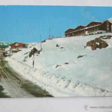 Postales: POSTAL HUESCA - CANFRANC - CANDANCHU - HOTELES TOBAZO Y CANDANCHU - AL FONDO HOTEL SOMPORT. Lote 46494952