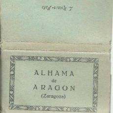 Postales: BLOC DE 16 FOTOS POSTALES DE ZARAGOZA - ALHAMA DE ARAGON NUEVAS. Lote 46656963