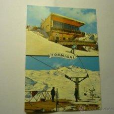 Postales: POSTAL SALLENT DE GALLEGO.--FORMIGAL .- SALIDA TELESFERICO Y RESTAURANTE. Lote 46699891