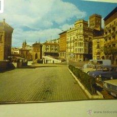 Postales: POSTAL TERUEL .- PASEO DEL GENERALISIMO- COCHES SEAT. Lote 46930856
