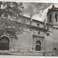 Postales: LA FRESNEDA Nº 17 .- IGLESIA SANTA MARIA LA MAYOR .- EDICIONES SICILIA. Lote 47097735