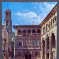 Postales: ALCAÑIZ ( TERUEL ). PALACIO MUNICIPAL Y LONJA. Lote 47121332