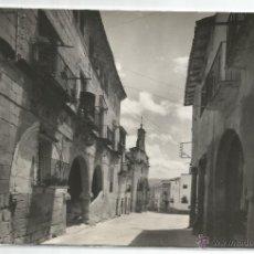 Postales: LA FRESNEDA Nº 15 .- ENCOMIENDA Y CALLE DEL PILAR .- EDICIONES SICILIA. Lote 47125551