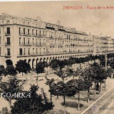 Postcards - ZARAGOZA.- PASEO DE LA INDEPENDENCIA. - 47228710