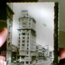Postales: POSTAL CALLE COSO EDIFICIO SEGUROS ADRIATICA ZARAGOZA AÑOS 50 CIRCULADA(B24). Lote 30740408