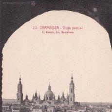 Postales: P- 244. LOTE 2 POSTALES ANTIGUAS ZARAGOZA.. Lote 47322879