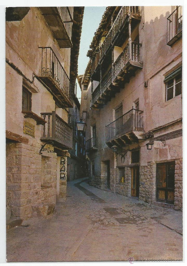 ALBARRACIN Nº 10 .- CALLE PORTAL DE MOLINA .- EDICIONES SICILIA .- SIN CIRCULAR (Postales - España - Aragón Moderna (desde 1.940))