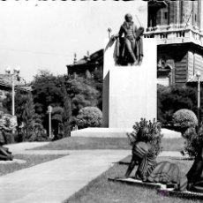 Postales: ZARAGOZA - MONUMENTO A GOYA. Lote 47627864