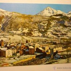 Postales: POSTAL BENASQUE .- PANORAMICA Y PICOS CERLER Y GALLINERO. Lote 47962214