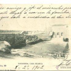 Postales: (PS-44686)POSTAL DE ZARAGOZA-CASA BLANCA.FOTOTIPIA ESCOLA. Lote 48346613