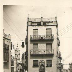 Postales: ALCAÑIZ - CALLES DE ALEJANDRE Y BLASCO DESDE LA PLAZA MENDIZABAL - EDIC. SICILIA. Lote 48369112