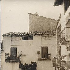 Postales: X113020 POSTAL RARA ARAGON TERUEL MATARRANA ALCANIZ VALDERROBRES CALLE HUESCA RARO. Lote 48376051