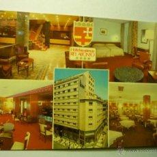 Postales: POSTAL ZARAGOZA.-HOTEL REY ALFONSO.--ESCRITA PUBLICIDAD HOTEL. Lote 48422796