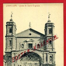 Postales: POSTAL ZARAGOZA, IGLESIA DE SANTA ENGRACIA, P97967. Lote 48495056