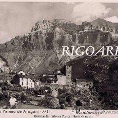 Postales: TORLA (ALTO PIRINEO ARAGÓN )- MONDARRUEGO. Lote 48531938