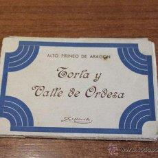 Postales: ALTO PIRINEO DE ARAGON. TORLA Y VALLE DE ORDESA. ZERKOWITZ, 8 POSTALES.. Lote 48619332