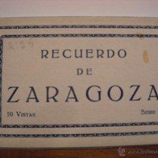 Postales: ZARAGOZA.10 VISTAS.SERIE 1.. Lote 48657999