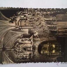 Postales - POSTAL CALATAYUD ZARAGOZA DETALLE DEL CORO Y ALTAR DE NTRA. SRA. DE LOS DOLORES - NO CIRCULADA - 48703245