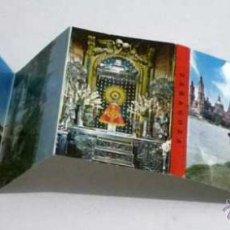 Postales: ESTUCHE 16 POSTALES PANORAMICAS ZARAGOZA DESPLEGABLE EN ACORDEON,AÑOS 60-70. Lote 48744034