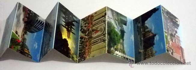 Postales: estuche 16 postales panoramicas zaragoza desplegable en acordeon,años 60-70 - Foto 3 - 48744034