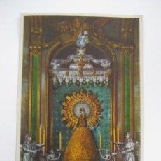 Postales: UNICA ESTAMPA OFICIAL POSTAL ANTIGUA VIRGEN DEL PILAR 1940 ZARAGOZA CENTENARIO RIEUSSET BARCELONA. Lote 48824512