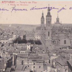 Postales: P- 1014. ANTIGUA POSTAL FOTOGRAFICA DE ZARAGOZA. AÑO 1928.. Lote 48990009