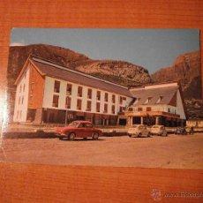 Postales: POSTAL TORLA (HUESCA) HOTEL ORDESA CIRCULADA. Lote 49258969