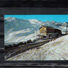 Postales: Nº 5 CANFRANC-CANDANCHU. HOTEL TOBAZO. AL FONDO PISTAS. Lote 49356745