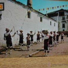 Postales: PIRINEO ARAGONES - DANZANTES DE YEBRA. Lote 49731618