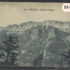 Postkarten - ORDESA - 21 - FAJA DE PELAY - ED· SILVERIO PASCUAL - (33151) - 50094797