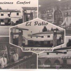 Postales: POSTAL DE EL PATIO BAR RESTAURANTE LA ALMUNIA DE DOÑA GODINA , . Lote 50198412