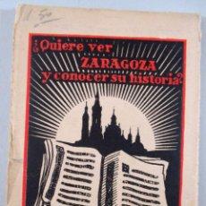 Postales: LOTE 12 POSTALES ZARAGOZA - ED. CAVÓN -SERIE 2 - LP8. Lote 50236998