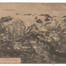 Postkarten - BENASQUE .- MACIZO DE LA MALADETA Y PICO DE ALBA - 50335946