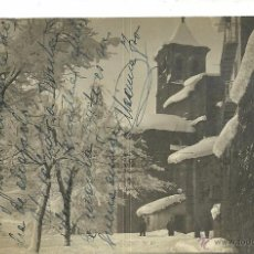 Postales: (PS-46252)POSTAL FOTOGRAFICA DE JACA-PORTAL DE MONJAS.CENSURA MILITAR. Lote 50532924