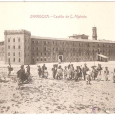 Postales: ZARAGOZA CASTILLO DE LA ALJAFERIA. Lote 35209526